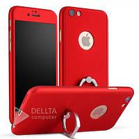 Чохол - бампер для iPhone 6 6s JR-BP179, з деражатель -кільце, різні кольори, Чохол для мобільного телефону, фото 1
