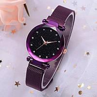 Женские наручные часы KAYUER фиолетовые, нержавеющая сталь, часы женские на руку, фото 1