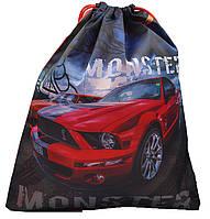 """Мішок для взуття M2007 """"Mustang"""", 39х33см уп12"""