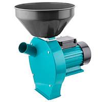 Измельчитель зерна / зернодробилка SIGMA (2.0 кВт, до 250 кг/ч, зерновые + початки), кормоизмельчитель