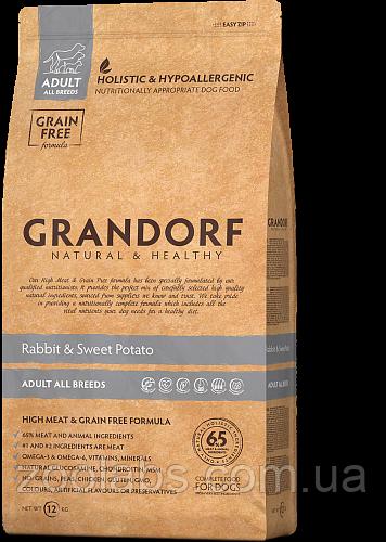 Корм Grandorf для собак всех пород с кроликом | Grandorf Rabbit & Potato Adult All Breeds 6 кг