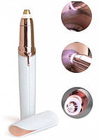 Женский триммер эпилятор для бровей Finishing Touch Flawless размер размер 13,1х2,1см, эпилятор для лица