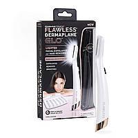 Триммер для стрижки волос на лице Flawless Dermaplane, фото 1