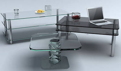 Стеклянная мебель | Мебель из стекла