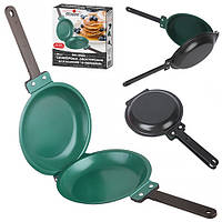 """Сковорода двостороння для готування """"Pancake"""" антипригарна, 20см, сковорода двостороння, сковорода"""