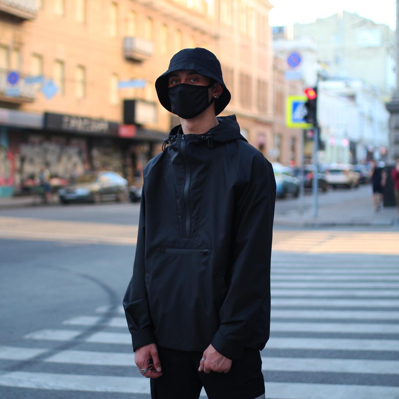 Анорак мужской черный от брнеда ТУР Шадоу (Shadow)