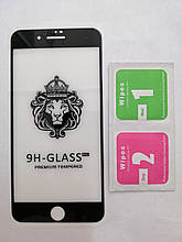 Защитное стекло iPhone 7Plus / 8Plus Lion Black