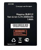 Акумулятор Fly FS506 / BL8013 (2000 mAh) 12 міс. гарантії, фото 1