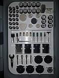 Гравер Белорус МТЗ МГ-700/2 (2 гравера, кейс, 236 насадок). Гравер Белорусский, фото 4