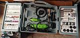 Гравер Белорус МТЗ МГ-700/2 (2 гравера, кейс, 236 насадок). Гравер Белорусский, фото 6