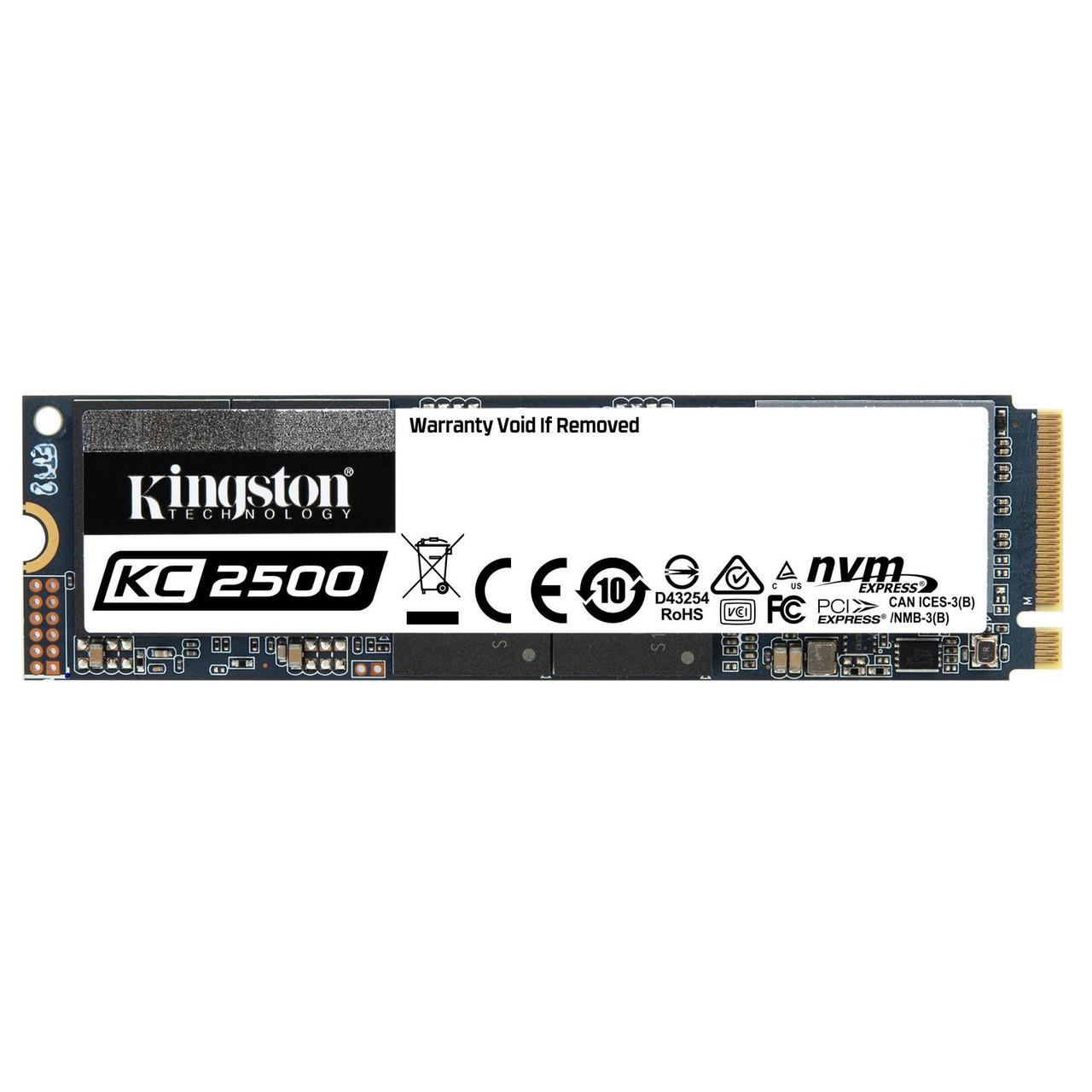 Накопичувач SSD Kingston KC2500 250 GB M. 2 (PCIe 3.0) 3D TLC (SKC2500M8/250G)