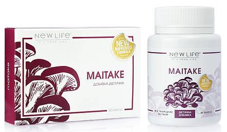 Maitake (Майтаке) капсулы - онкопротектор, иммуномодулятор, снижение веса, усталость, фото 2