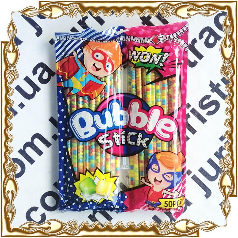 Жевательная резинка Bubble Stick WOW! 9 г. 50 шт./уп.