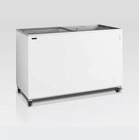 Скриня морозильна зі склом TEFCOLD IC400SC