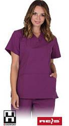 Защитная блузка с короткими рукавами.VILANELLA-J V