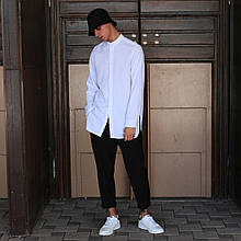 Рубашка мужская белая Ким (Kim) от бренда ТУР размер S, M, L, XL