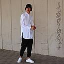 Рубашка мужская белая Ким (Kim) от бренда ТУР размер S, M, L, XL, фото 2
