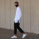 Рубашка мужская белая Ким (Kim) от бренда ТУР размер S, M, L, XL, фото 4