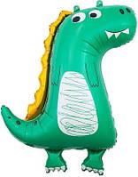 Шар Динозавр Фольгированый фигурный 86см. Pinan