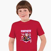 Детская футболка для мальчиков Фортнайт (Fortnite) (25186-1189) Красный, фото 1