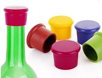 Пробка для бутылок силиконовый , цвета разные, фото 1
