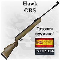 Пневматическая винтовка Norica Hawk GRS, газовая пружина, система RAS
