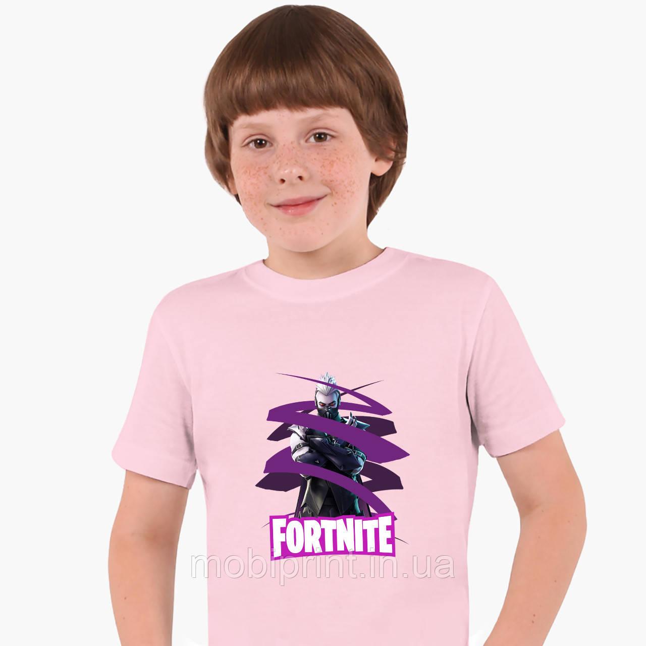 Детская футболка для мальчиков Фортнайт (Fortnite) (25186-1190) Розовый