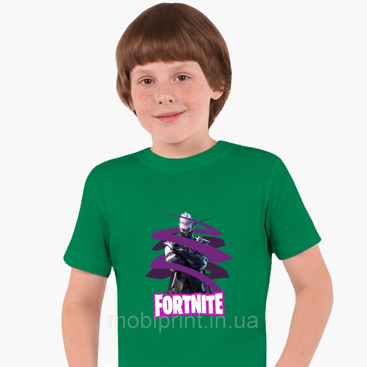 Детская футболка для мальчиков Фортнайт (Fortnite) (25186-1190) Зеленый