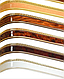 Декоративная лента на потолочный карниз КСМ (70 мм) Бленда Меандр 3 Сатин, фото 4