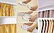Декоративная лента на потолочный карниз КСМ (70 мм) Бленда Меандр 3 Сатин, фото 7