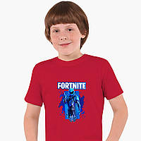 Детская футболка для мальчиков Фортнайт (Fortnite) (25186-1192) Красный, фото 1