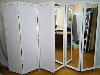 Зеркальная ширма для преграждения помещения, фото 2