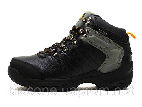 Ботинки зимние унисекс KnoWay, черные, кожа