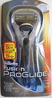 Станок Gillette Fusion Proglide Manual Razor + 2 лезвия , фото 1