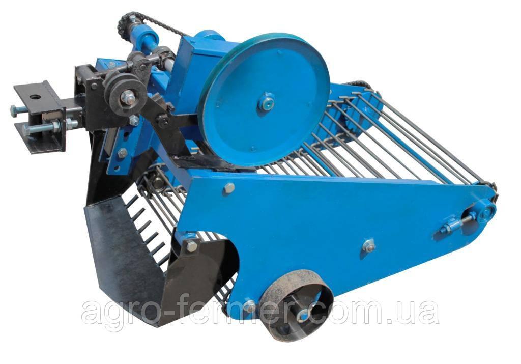 Картофелекопалка транспортерная для мототрактора (мотоблок)