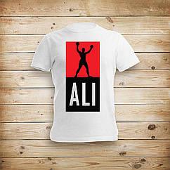 Мужская футболка с рисунком Ali