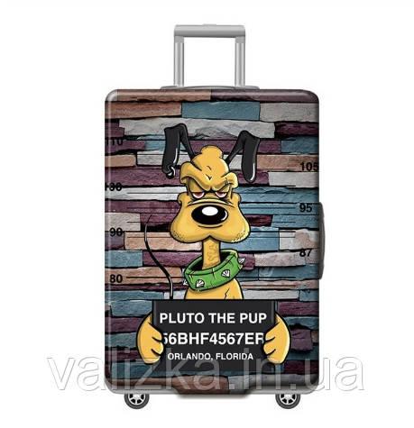 Чохол для великого чемодана з принтом гуфі №2