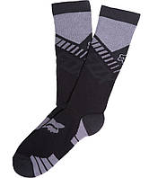 Мото носки FOX CORE CREW SOCK (3 PACK) Black L/XL