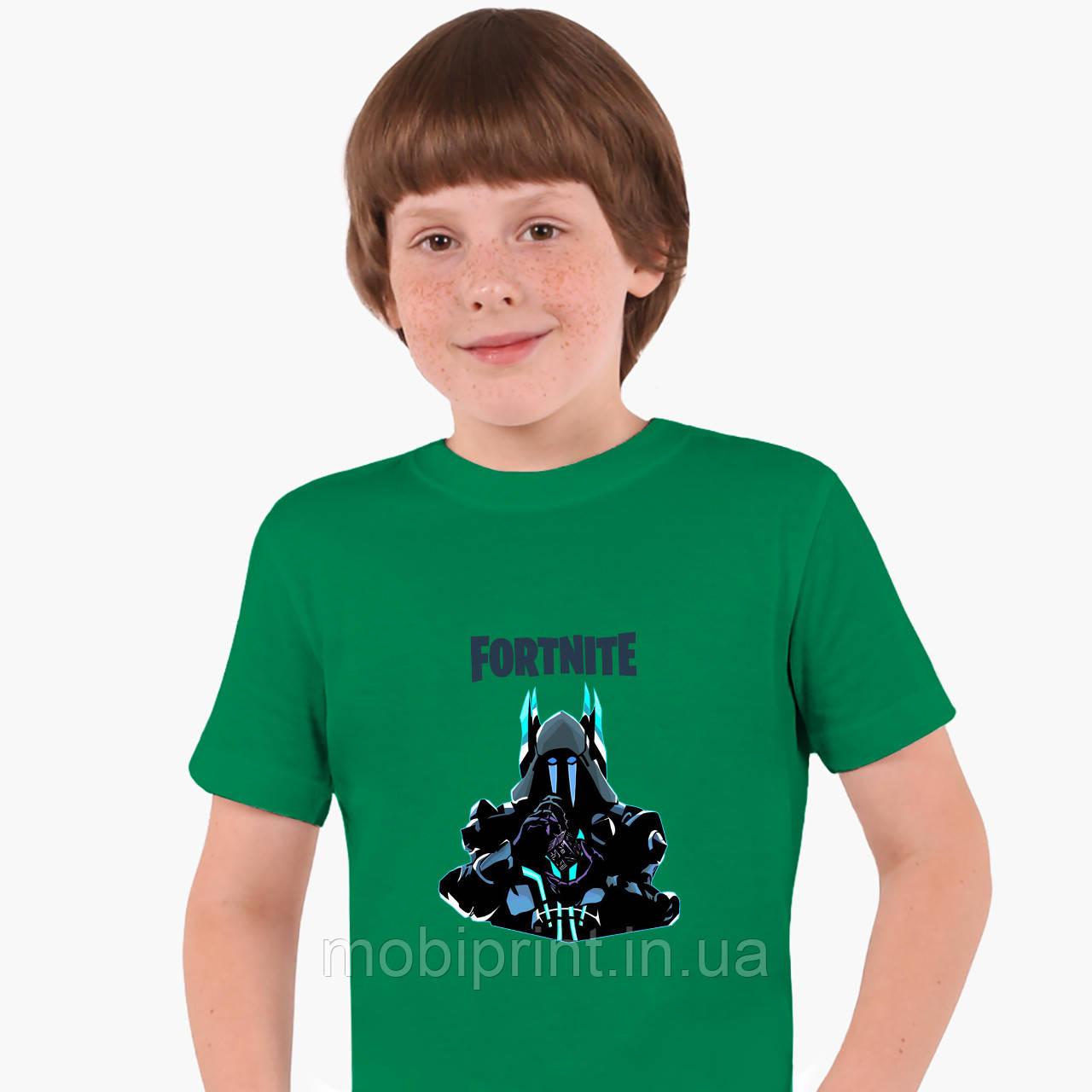 Детская футболка для мальчиков Фортнайт (Fortnite) (25186-1195) Зеленый