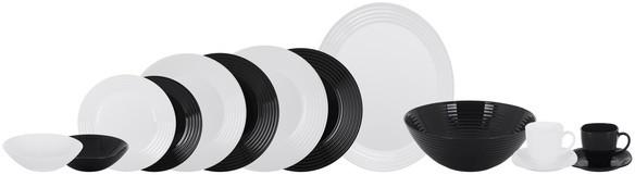 Сервиз Luminarc Harena Black&White из 38 предметов на 6 персон