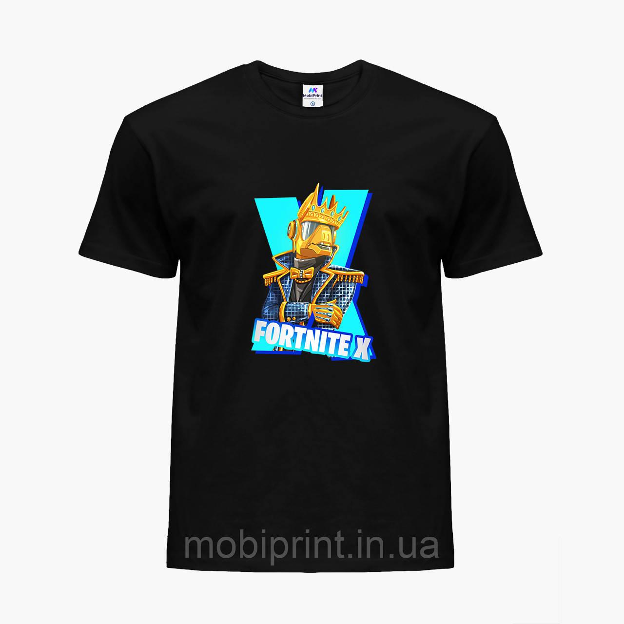 Детская футболка для мальчиков Фортнайт (Fortnite) (25186-1196) Черный