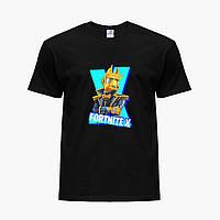Детская футболка для мальчиков Фортнайт (Fortnite) (25186-1196) Черный, фото 1