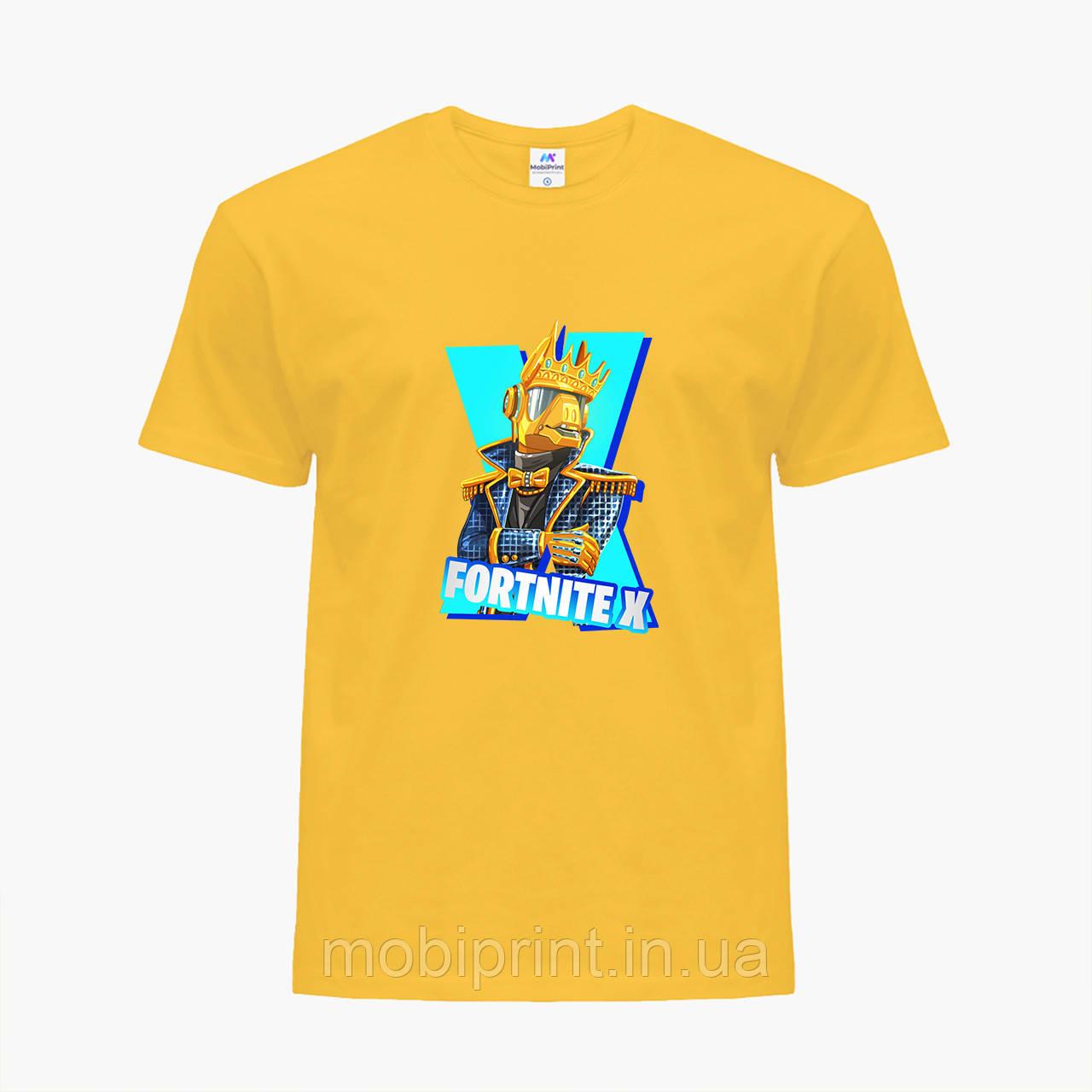 Детская футболка для мальчиков Фортнайт (Fortnite) (25186-1196) Желтый