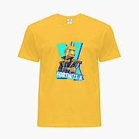 Детская футболка для мальчиков Фортнайт (Fortnite) (25186-1196) Желтый, фото 1