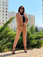 Жіночий костюм з трикотажу 2-нитка Poliit 7195