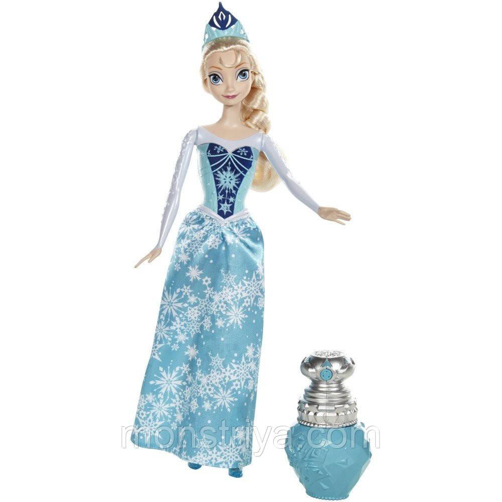 Кукла Эльза меняет цвет  Frozen Mattel