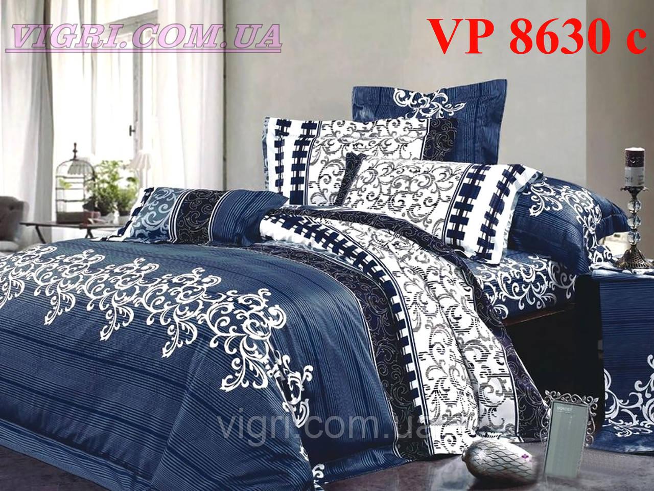 Постельное белье, семейный комплект, ранфорс, Вилюта (VILUTA) VР 8630c