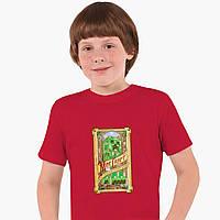 Детская футболка для мальчиков Майнкрафт (Minecraft) (25186-1178) Красный, фото 1