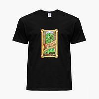 Детская футболка для мальчиков Майнкрафт (Minecraft) (25186-1178) Черный, фото 1