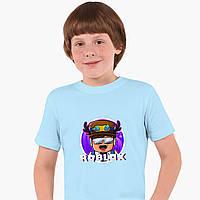 Детская футболка для мальчиков Роблокс (Roblox) (25186-1218) Голубой, фото 1